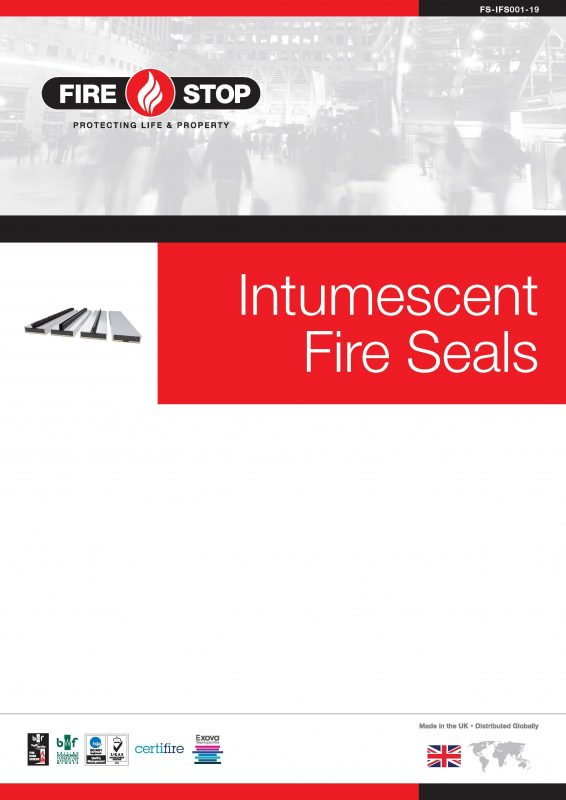 Firestop Intumescent Fire Seals brochure front page