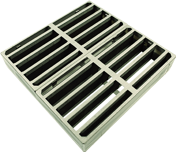 Firestop air transfer grille