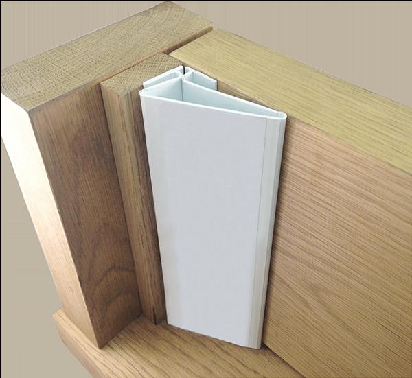 Firestop finger protection on door