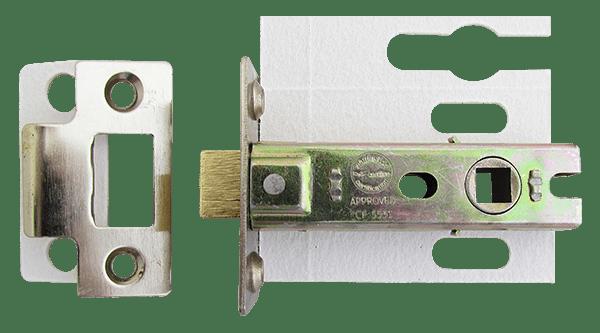 Intumescent tube lock
